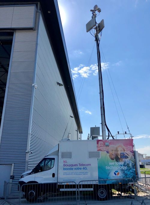 Antenne 4G Mobile - Festival Musique - Bouygues Telecom