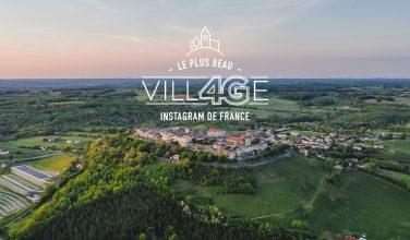 Logo plus beau VILLAGE 4G de France
