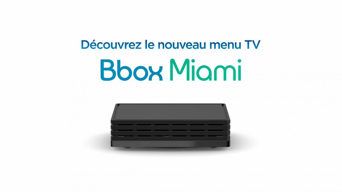 Logo Nouveau Menu TV Bbox Miami