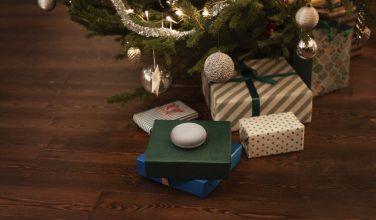 Google Nest Mini - sapin de Noël