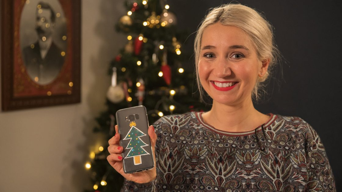 Tuto - Coque de téléphone - Do It Yourself - Noël