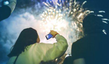 Nouvel An - feu d'artifice - Réseau Bouygues Telecom très sollicité