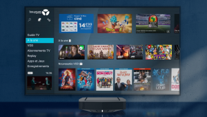 Nouveau menu - Bbox TV - Android 8 - Oreo