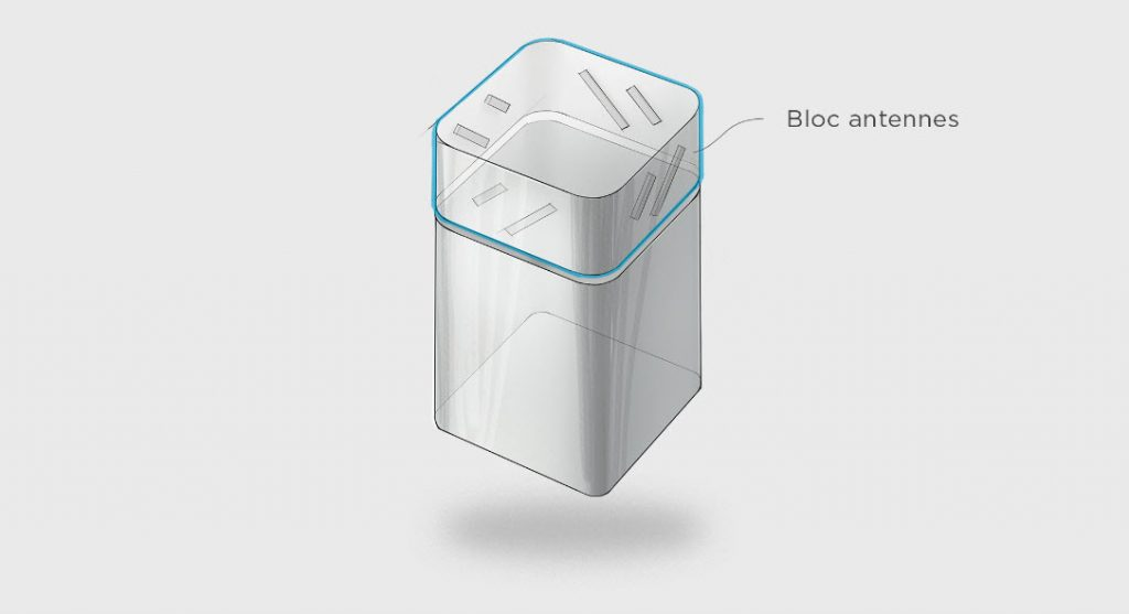 Modem Bbox fibre Wifi 6 - Le design au service de la technologie