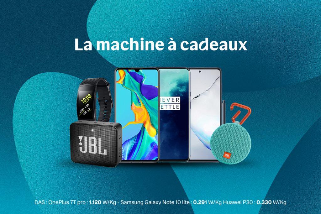 Près de 5 000€ de cadeaux mis en jeu dans la nouvelle Machine à Cadeaux