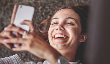 Femme - appel et SMS via Wi-Fi