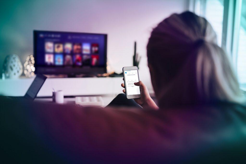 Accessibilité - Menu Bbox et application B.tv
