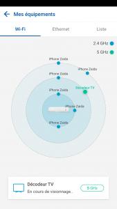 Aperçu équipements connectés - Appli Espace Client - Bouygues Telecom