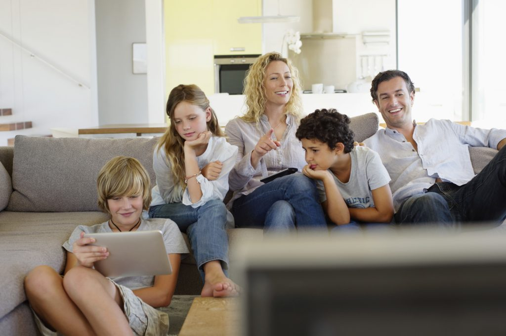 Famille - Les Francais et la TV