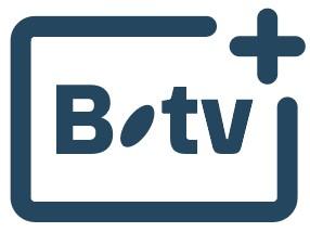 Logo B.tv+ - Bbox Smart TV - Application Télé - Replay