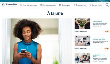 Le mag ensemble - nouveau look - home page