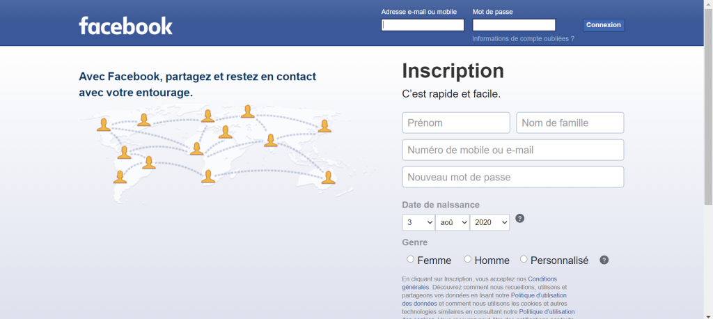 Home Facebook - Réseaux sociaux et ados