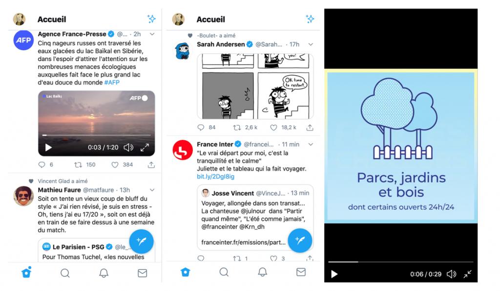 Aperçu Twitter - Réseaux sociaux et ados