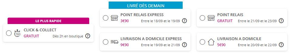 Tarifs Livraison - matériel - Bouygues Telecom