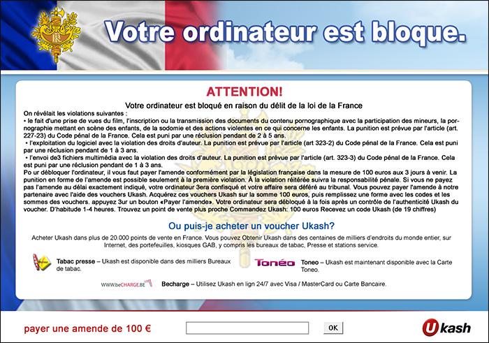 Ensemble, le Mag - Cybersécurité : quelles sont les techniques de piratage et arnaques les plus courantes ? - ransomware-gendarmerie source Interieur.gouv.fr