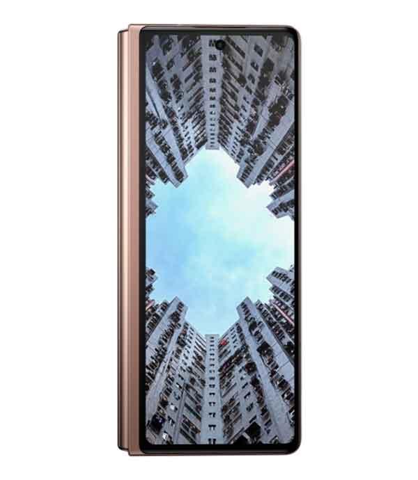 Samsung Galaxy Z Fold2 fermé - façade - test - Rodrigue - Comité-Clients