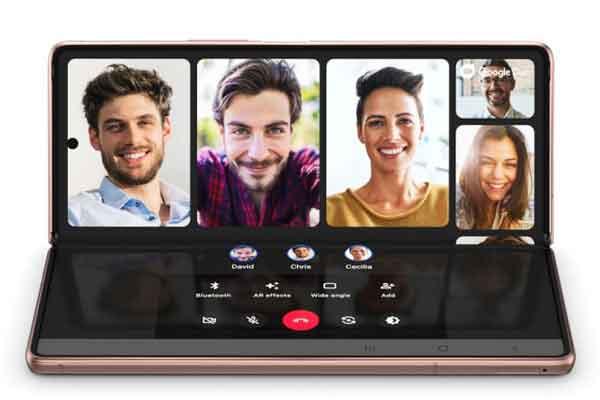 Samsung Galaxy Z Fold2 horizontal - test - Rodrigue - Comité-Clients