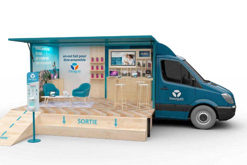 Camion - Boutique - Bouygues Telecom - marchés - Rencontres