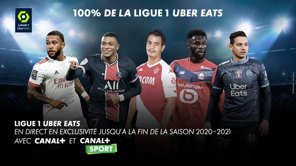 100% de la ligue 1 Uber Eats - Canal+ - Sport - Bbox