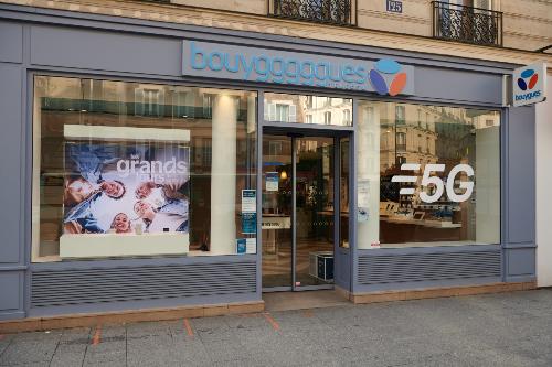 5G - Paris - Boutique Bouygues Telecom relookée