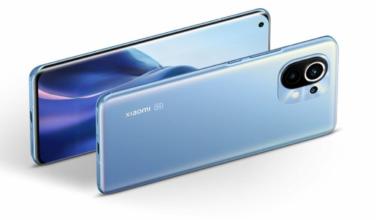 Aurélien présente le smartphone Xiaomi Mi 11