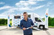 Le camion Fibre Bouygues Telecom va à la rencontre des Français
