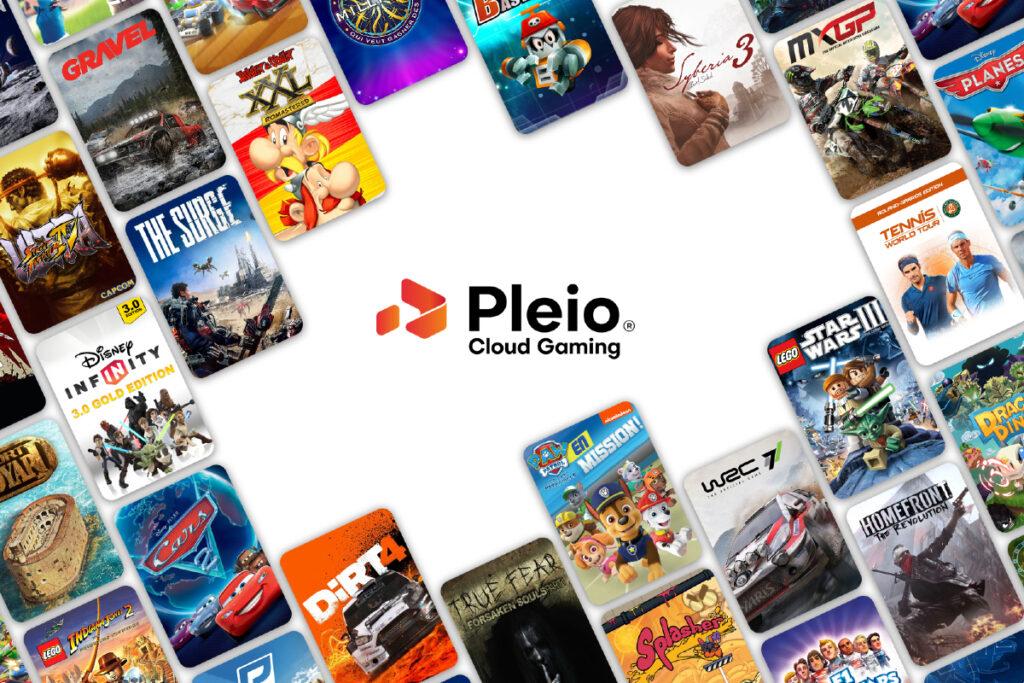 Plus de 100 jeux désormais disponibles en illimité sur Pleio !