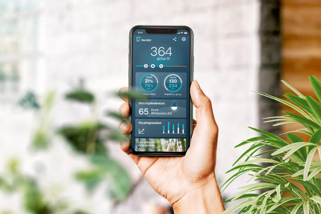 Mon empreinte smartphone, l'application qui aide à adopter une consommation d'Internet mobile plus responsable