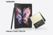 Découvrez les Samsung Galaxy Z Flip3 5G et Fold3 5G en vidéo